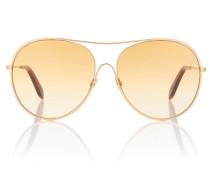 Aviator Sonnenbrille Loop Round
