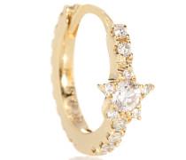 Einzelner Ohrring Diamond Star Eternity aus 18kt Gold