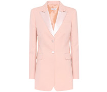 Blazer West aus Stretch-Wolle
