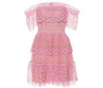 Off-Shoulder-Kleid aus Guipure-Spitze