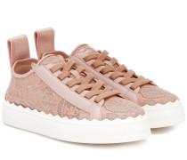 Sneakers Lauren aus Spitze