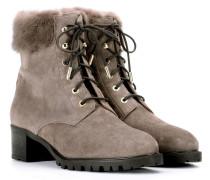 Ankle Boots The Heilbrunner aus Veloursleder