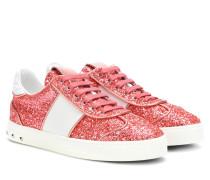 Garavani Sneakers Flycrew mit Glitter
