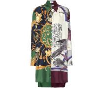 Hemdblusenkleid aus Seide