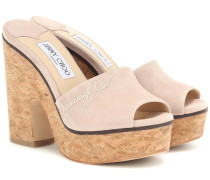 Wedge-Pantoletten Deedee 125