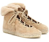 Sneakers Gus aus Veloursleder
