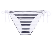 Bikini-Höschen mit Streifen