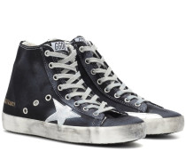 High-Top-Sneakers Francy aus Denim