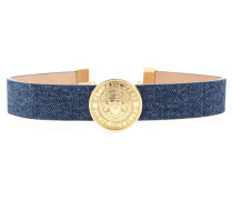 Chocker aus Denim