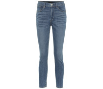 High-Rise W3 Skinny Jeans