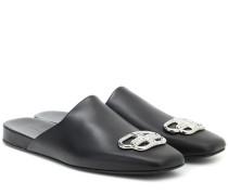 Slippers BB aus Leder