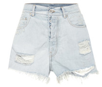 Distressed Jeansshorts