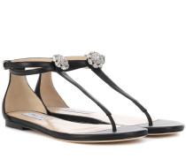 Sandalen Afia aus Leder