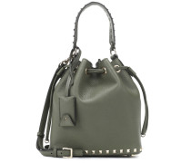 Bucket-Bag Rockstud New Small aus Leder