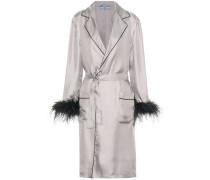 Mantel aus Seide