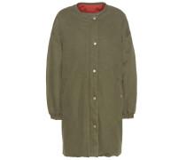 Wendbarer Mantel Casey aus Baumwolle und Leinen