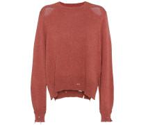Distressed Pullover Kelia aus einem Baumwoll-Wollgemisch