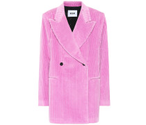 Oversize-Jacke aus Cord