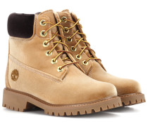 X Timberland Ankle Boots aus Samt