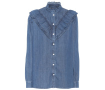 Denim-Bluse Suzie