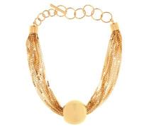 Vergoldete Halskette aus Sterlingsilber