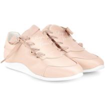 Sneakers Sporty Viv' Etiquette aus Satin