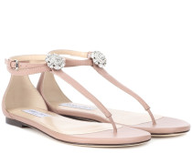 Verzierte Sandalen Afia aus Leder
