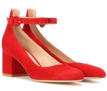 Pumps Greta aus Veloursleder