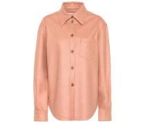 Oversize-Hemd aus Flanell