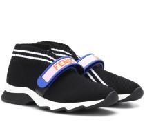 Verzierte Sneakers aus Mesh