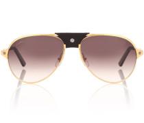 Aviator-Sonnenbrille Santos de Cartier