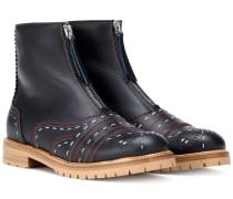 Ankle Boots Marcela aus Leder