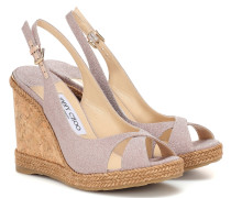 Wedge-Sandalen Amely 105
