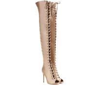 Overknee-Stiefel Marie aus Satin
