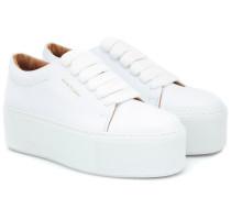 Plateau-Sneakers Drihanna aus Leder