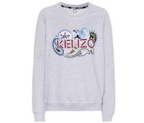 Besticktes Sweatshirt aus Baumwolle