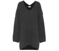 Oversize-Pullover Deka aus Wolle