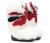 X Moon Boot® Stiefel aus Pelz