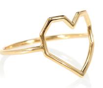 Ring Corazon Puro aus 9 kt Gelbgold
