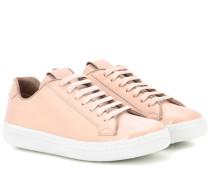 Sneakers Mirfield aus Lackleder