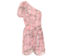 Kleid aus Baumwolle und Seide