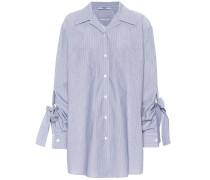 Gestreifte Bluse aus Baumwolle