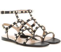 Sandalen Rockstud aus Leder