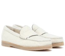 Loafers Bromley aus Shearling