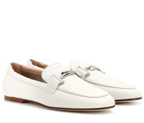 Loafers Double T aus Leder