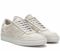 Sneakers BBall Low aus Veloursleder