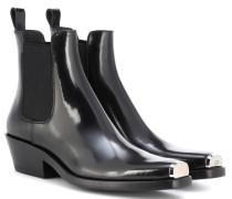 Ankle Boots Western Claire aus Lackleder