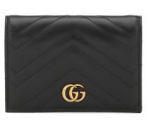 Passhülle GG Marmont aus Leder