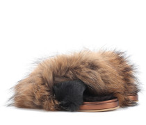 Sandalen mit Fell