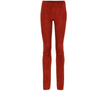 Leggings Jo aus Veloursleder